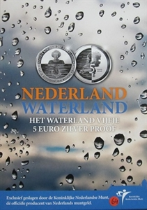 Picture of 5 euro zilver proof  2010 Waterland