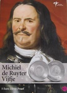 Picture of 5 euro zilver proof 2007 Michiel de Ruijter