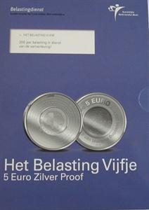 Picture of 5 euro zilver proof 2006 Belastingdienst ( belastingvijfje)