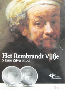 Picture of 5 euro zilver proof 2006 Rembrandt