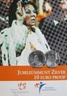 Picture of 10 euro zilver proof 2005 25 Jaar Beatrix Jubileummunt
