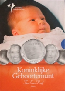 Picture of 10 euro zilver proof 2004 Koninklijke Geboortemunt