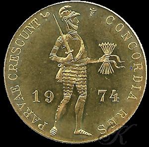 Picture of Gouden Dukaat 1974 Medailleslag
