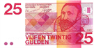 Picture of 25 gulden 1971: nr. 84