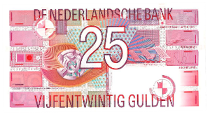 Picture of 25 gulden 1989: nr. 85