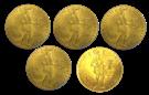 Picture of 5 x Gouden Dukaat 1927 - 1928
