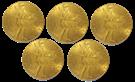 Picture of  5 x Gouden Dukaat 1937