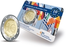 "Picture of Coincard 2 Euro Nederland 2009 ""EMU"""