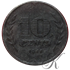 "Picture of 10 cent 1941 zink ""Driekruinenboom"""