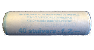 "Picture of Speciale rol stuivers 1980 ""11e conferentie voor muntmeesters"""
