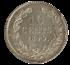 Picture of 10 cent 1849 met punt (in PCGS slab)