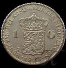 Picture of Zilveren guldens Wilhelmina (prijs per 100 st.)