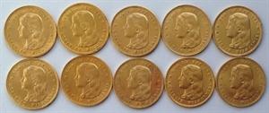 Picture of 10 x Gouden Tientje 1897 Hangend Haar