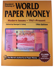 Picture of Krause's World Paper Money - Modern Issues 1961-Nu (19e editie)