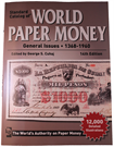 Picture of Krause's World Paper Money - General Issues 1368-1960 (14e editie)