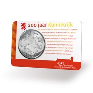 """Picture of Coincard aankondigingspenning """"200 Jaar Koninkrijk"""" 2013"""