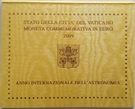 """Picture of 2 Euromunt 2009 Vaticaanstad """"Jaar van de Astronomie"""""""