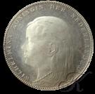 Picture of Proefontwerp van Wilhelmina Rijksdaalder 1892 (Begeer)