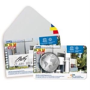 "Picture of Coincard 5 Euro 2013 ""Rietveld"" Eerste Dag Uitgifte"