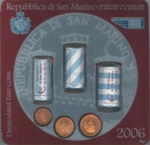 Picture of Set San Marino 2006 met 3 rolletjes