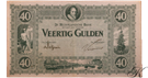 Picture of 40 gulden 1923: nr. 93