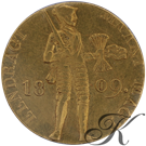 Picture of Gouden Dukaat 1809 (2e type) Lodewijk Napoleon