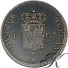 Picture of 1 Gulden 1809 Lodewijk Napoleon