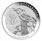 """Picture of Zilveren 1 kilo-munt """"Kookaburra"""" 2016"""