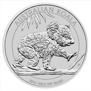 Munthandel Kevelam B V Zilveren 1 Kilomunt Koala Kopen