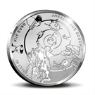 Picture of 5 euro zilver proof 2016 Jheronimus ( Jeroen ) Bosch