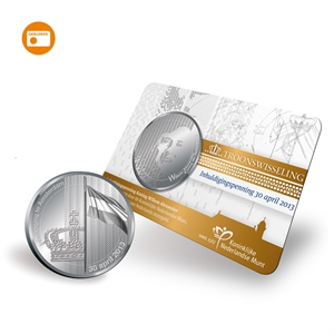 Picture of Inhuldigingspenning - coincard
