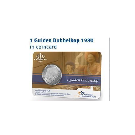 Munthandel kevelam b v set coincards 1 gulden dubbelkop for Gulden interieur b v