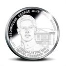 Picture of Curacao: 5 Gulden Curaçao en Sint Maarten 2016 Zilver Proof - George Maduro
