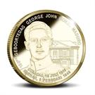 Picture of Curacao: 10 Gulden Curaçao en Sint Maarten 2016 Goud Proof - George Maduro