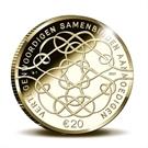 Picture of Verjaardagsmunt 2017 €20 Goud Proof