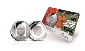 Picture of Het Johan Cruijff Vijfje 2017 BU-kwaliteit in coincard