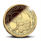 Picture of 10 euro goud proof 2017 Stelling van Amsterdam