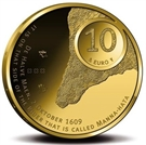 Picture of Gouden 10 Euro 2009 Manhattan