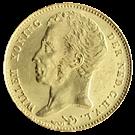 Picture of Gouden Tientje 1829 Brussel - Pr+