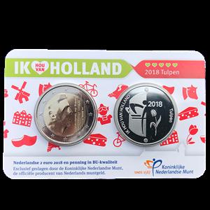 Picture of Holland Coincard 2018 - coincard met zilveren penning