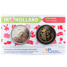 Picture of Holland Coincard 2018 - coincard met gouden penning