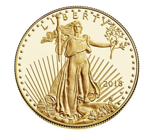Picture of U.S.A.: 1 Eagle goud 2018
