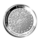 Picture of 5 euro zilver proof 2018 Leeuwarden