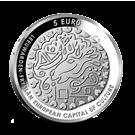 Picture of 5 euro zilver proof 2018 Leeuwarden