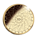 Picture of 10 euro goud proof 2018 Fanny Blankers-Koen