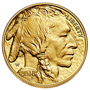Picture of U.S.A. 1 Gouden Buffalo 2018