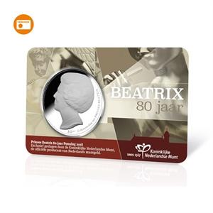 Picture of 80 jaar Beatrix Penning 2018 BU-kwaliteit in coincard