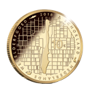 Picture of 10 euro goud proof 2018 Schokland