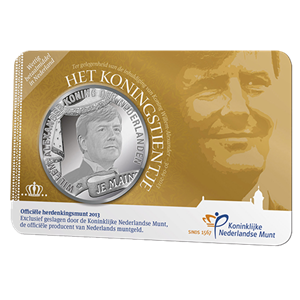 "Picture of Coincard 10 Euro 2013 ""Koningstientje"""
