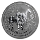 "Picture of 20 x zilveren 1 ounce-munt ""Year of the Horse"""